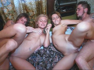 Wet and wild sex home party